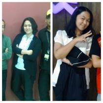 kiri foto April'13, Kanan awal Desember'13
